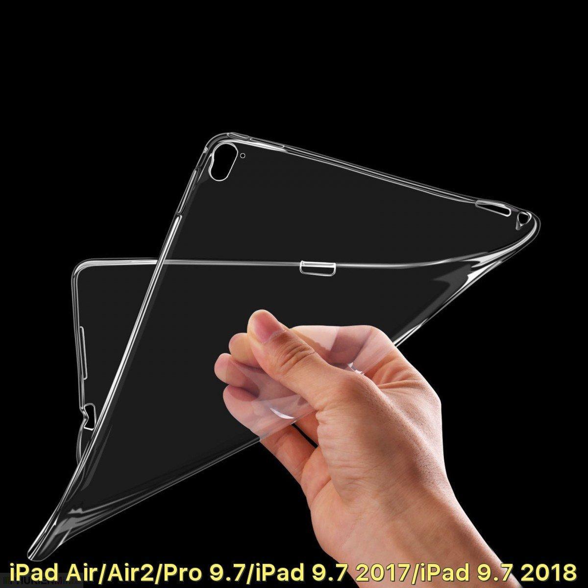 Hình ảnh Ốp lưng dẻo trong suốt cho iPad Air/Air2/Pro 9.7/iPad 9.7 2017/iPad 9.7 2018