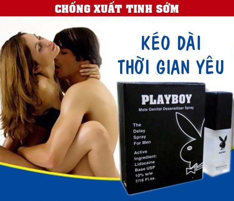Hình ảnh Xịt PlayBoy 5ml - Kéo dài thời gian quan hệ