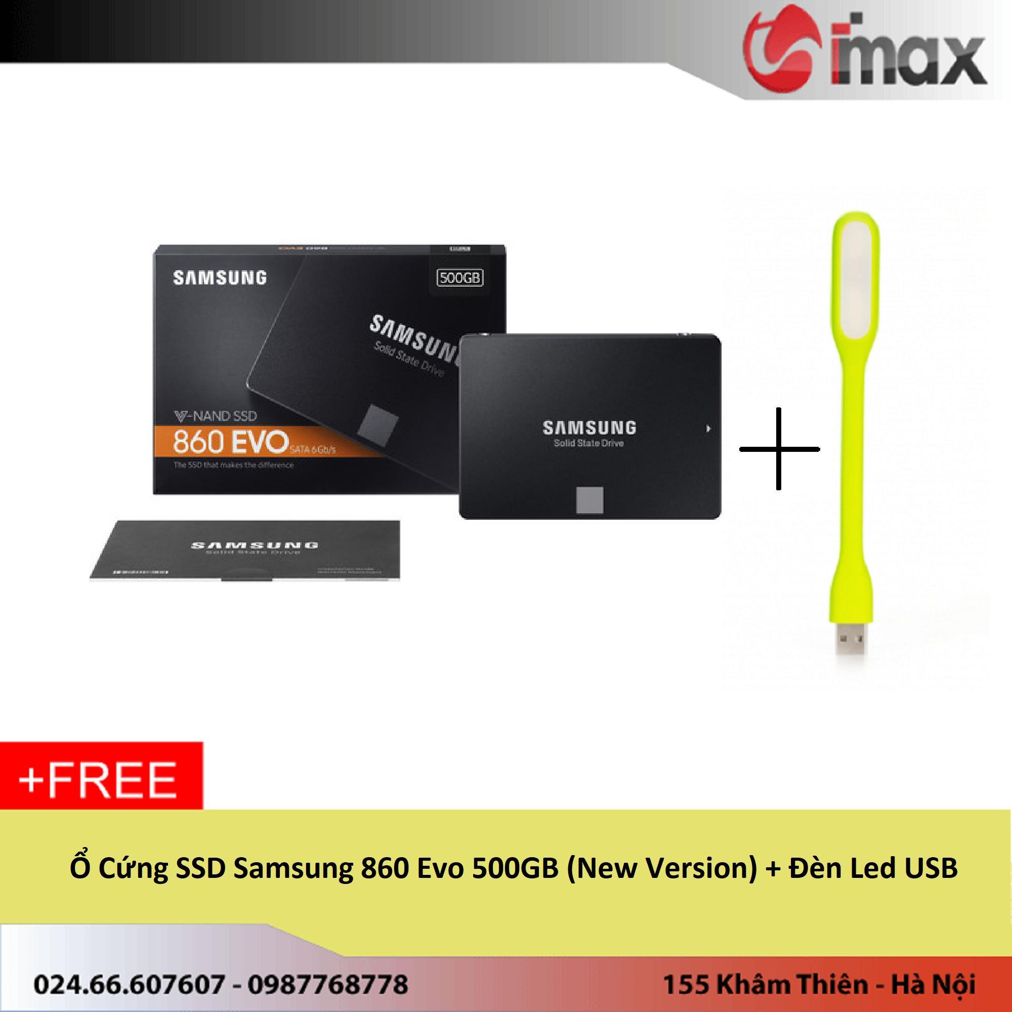 Mua Ổ Cứng Ssd Samsung 860 Evo 500Gb New Version Đen Led Usb Mới Nhất