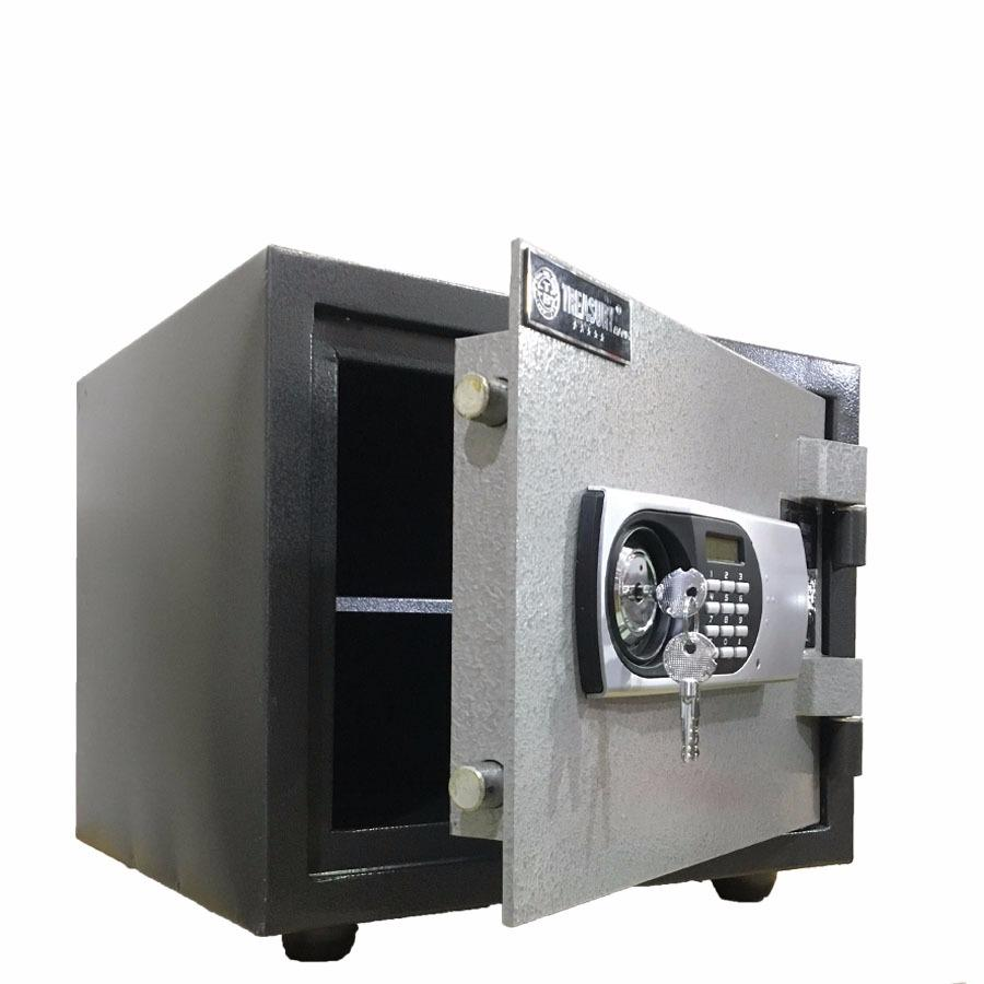 két sắt chống cháy treasury Bank K25BL ( Khoá điện tử báo động)