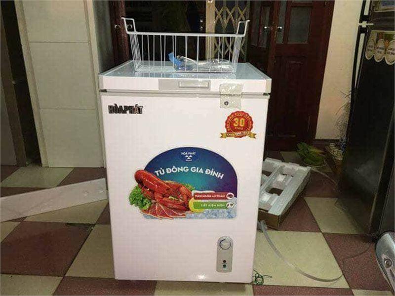 Hình ảnh tủ cấp đông sanaky 100l