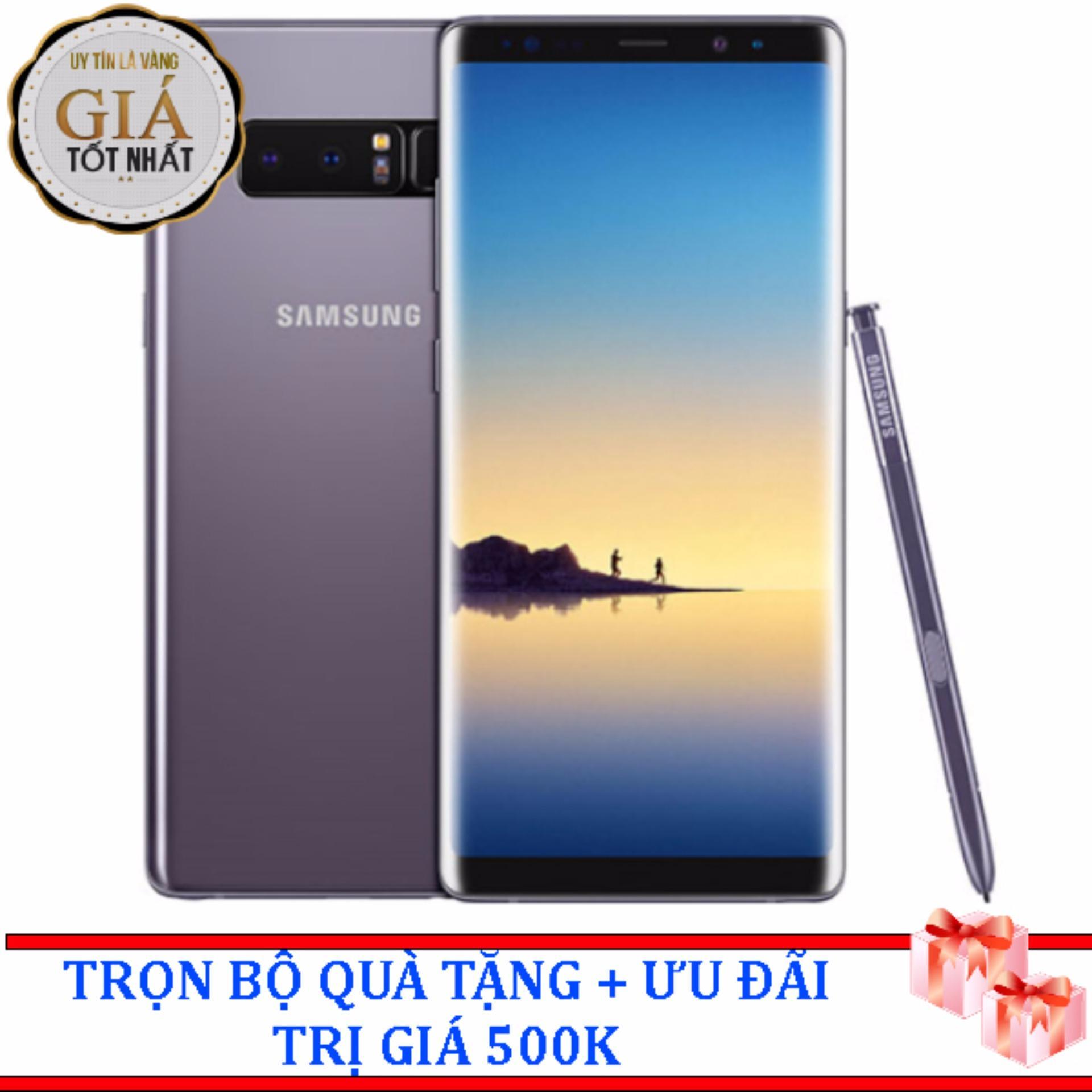 Ôn Tập Samsung Galaxy Note 8 64Gb Tim Khoi Hang Nhập Khẩu Samsung