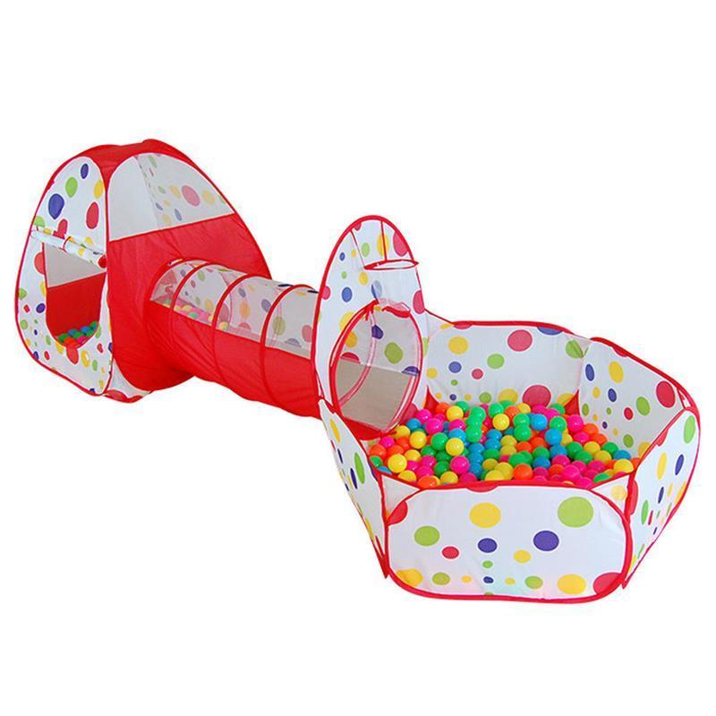 Hình ảnh Lều bóng chui 3 khoang cho bé