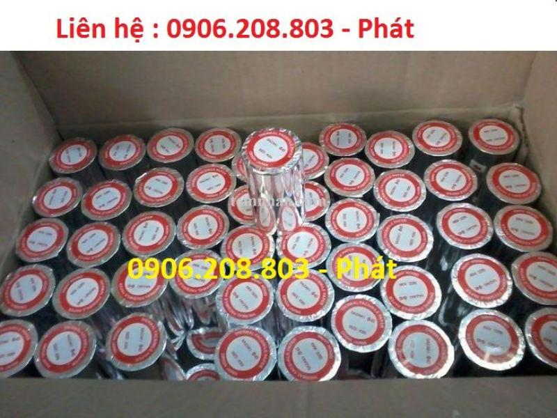 Giấy in nhiệt K80 Oji (thùng 50 cuộn loại tốt lõi nhựa).