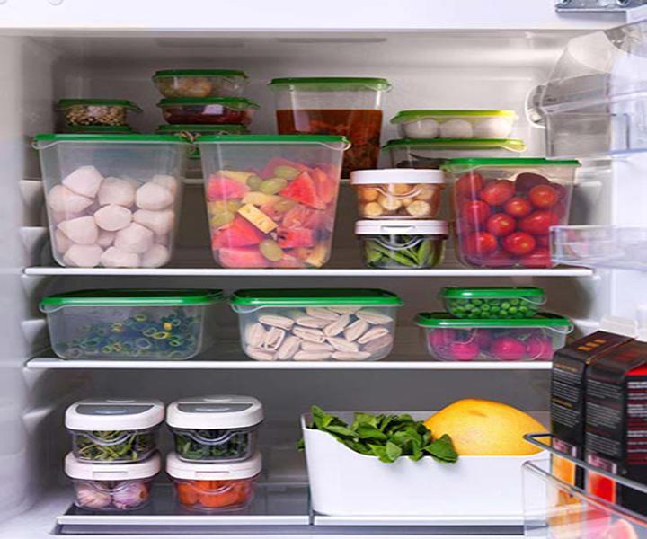 Hình ảnh bộ 17 hộp đựng thực phẩm để trong tủ lạnh