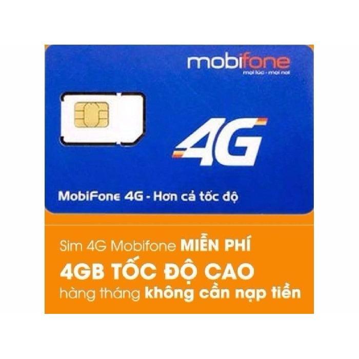 Bán Sieu Hot Sim 4G Mobifone Mdt250A Giống F500 Trọn Goi 1 Năm Sử Dụng 4Gb 1 Thang Rẻ Nhất