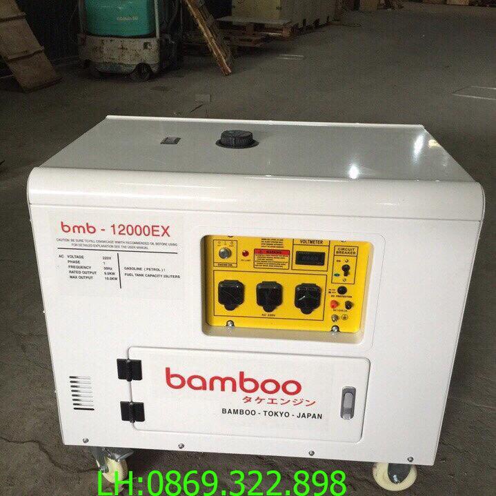 Máy phát điện Bamboo 12000E 10kw chạy xăng chống ồn