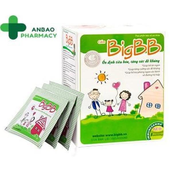Cốm big bb xanh và cốm big bb plus hồng - tăng cường sức đề kháng cao cấp