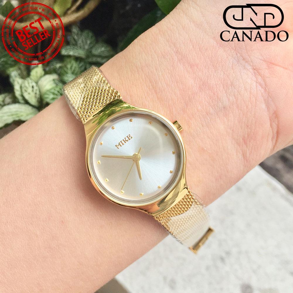 Mua Canado Đồng Hồ Nữ Mike Ladies Luxury Watch Mk002 Chống Xước Chống Nước Vang Mới Nhất