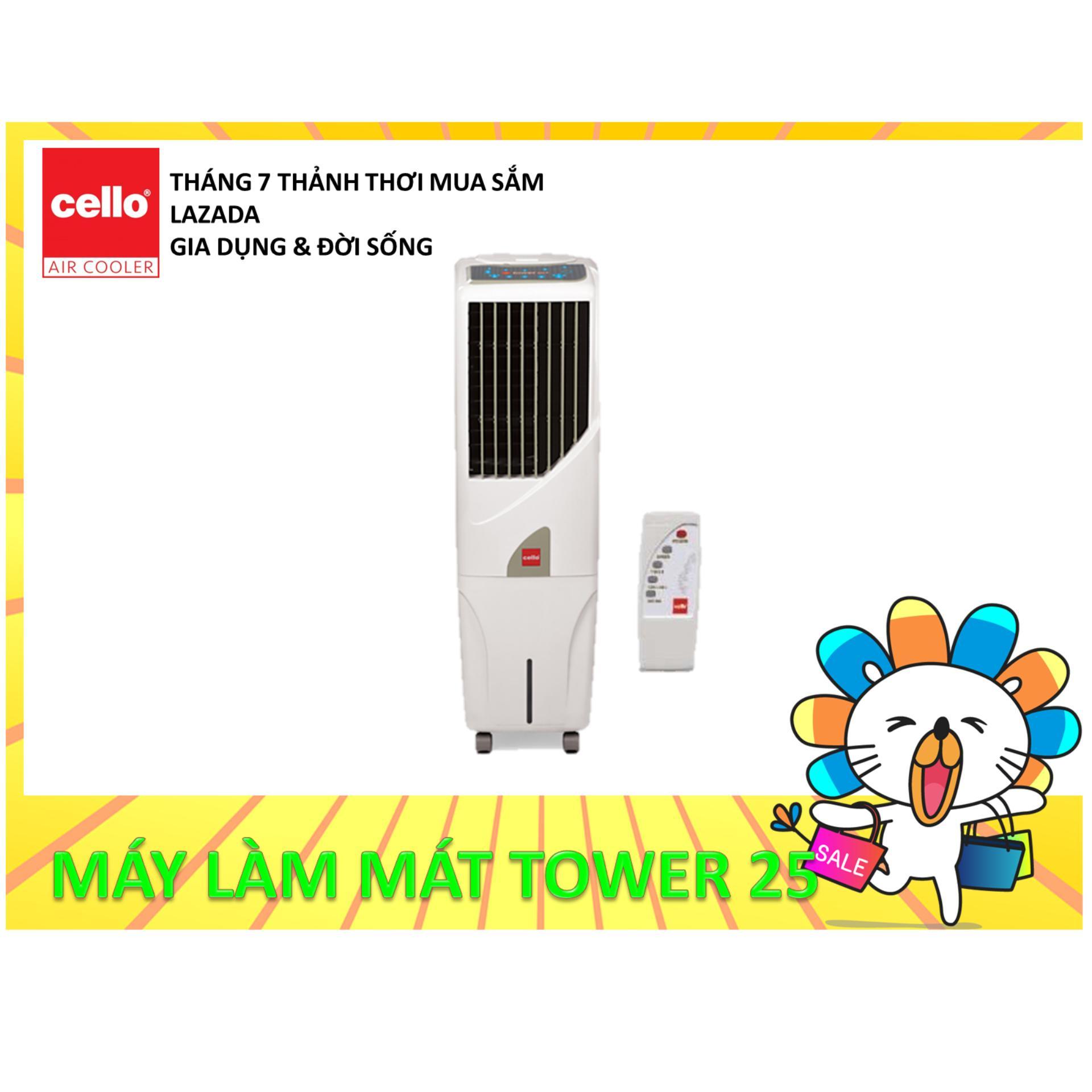 Quạt nước (Máy làm mát không khí) CELLO Tower 25+