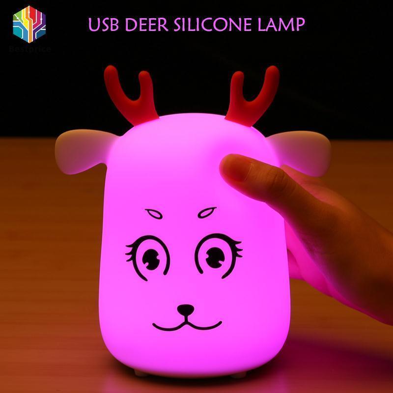 Bảng giá Bestprice Night Light Sleep Lamp Portable Colourful Transformation Children Phong Vũ