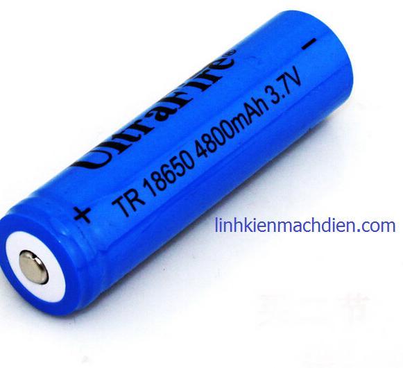 Hình ảnh Pin UltraFire 18650 4800mAH 3.7v