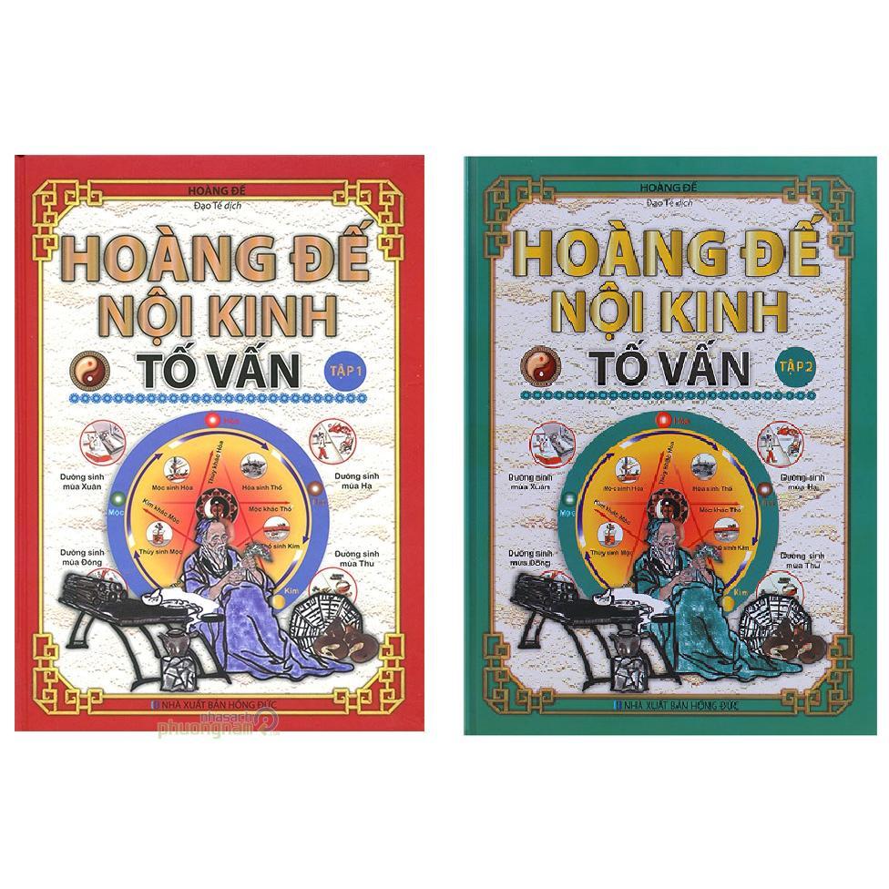 Mua Combo Hoàng Đế Nội Kinh Tố Vân Tập 1 +2