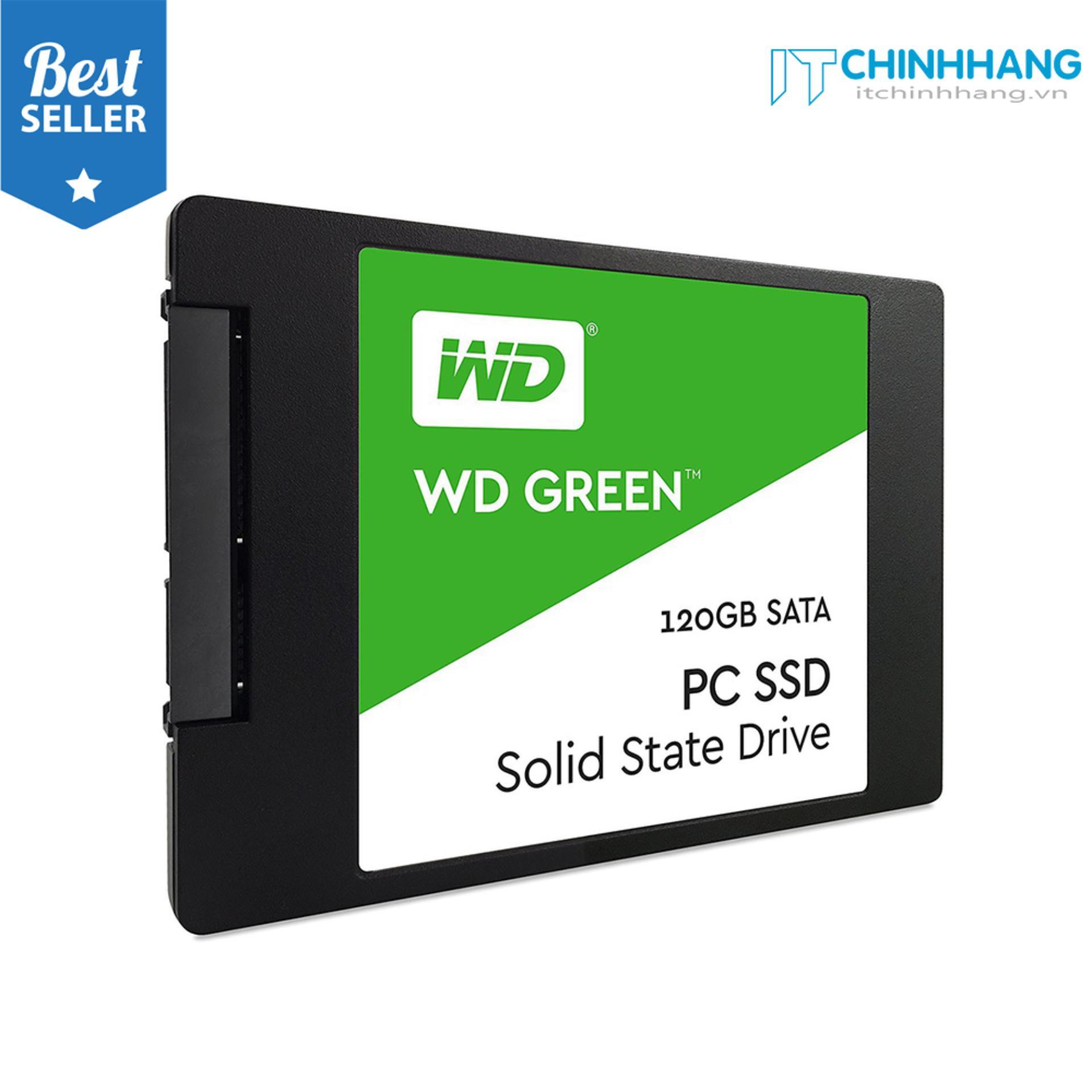 Hình ảnh Ổ cứng SSD WD Green 120GB SATA 2.5 inch - HÃNG PHÂN PHỐI CHÍNH THỨC