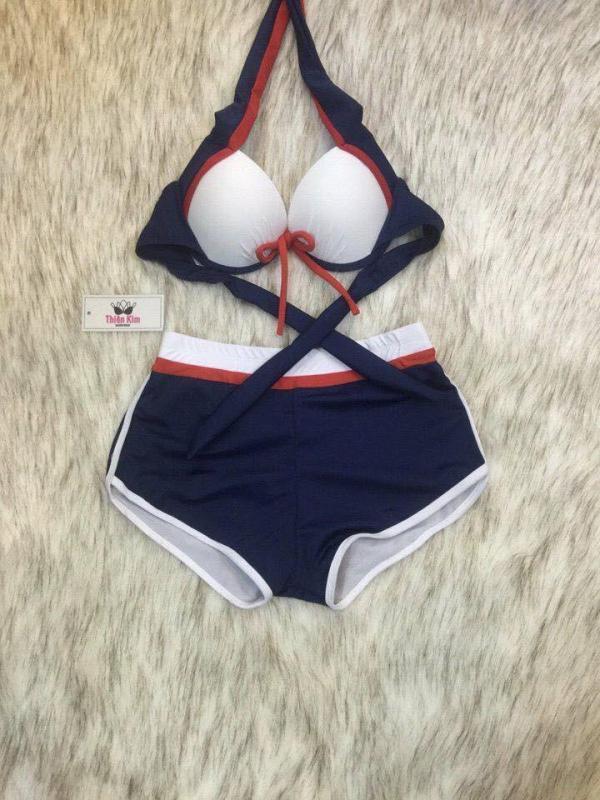 Nơi bán Set đồ bơi hai mảnh (bikini) quần đùi áo mút dày nâng ngực