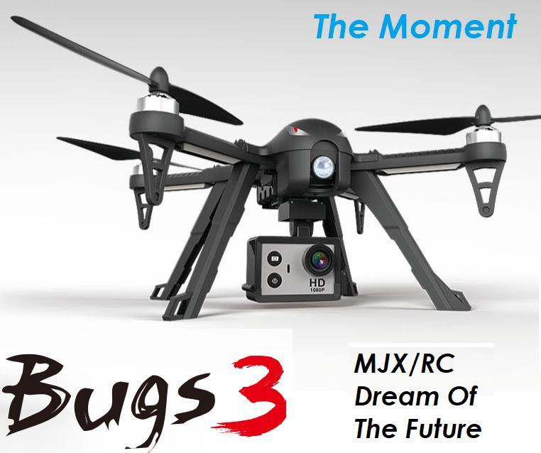 Hình ảnh Máy Bay Flycam Điều Khiển Từ Xa MJX Bugs 3 - Hỗ Trợ Gắn Camera Hành Động - Thương hiệu MJX R/C