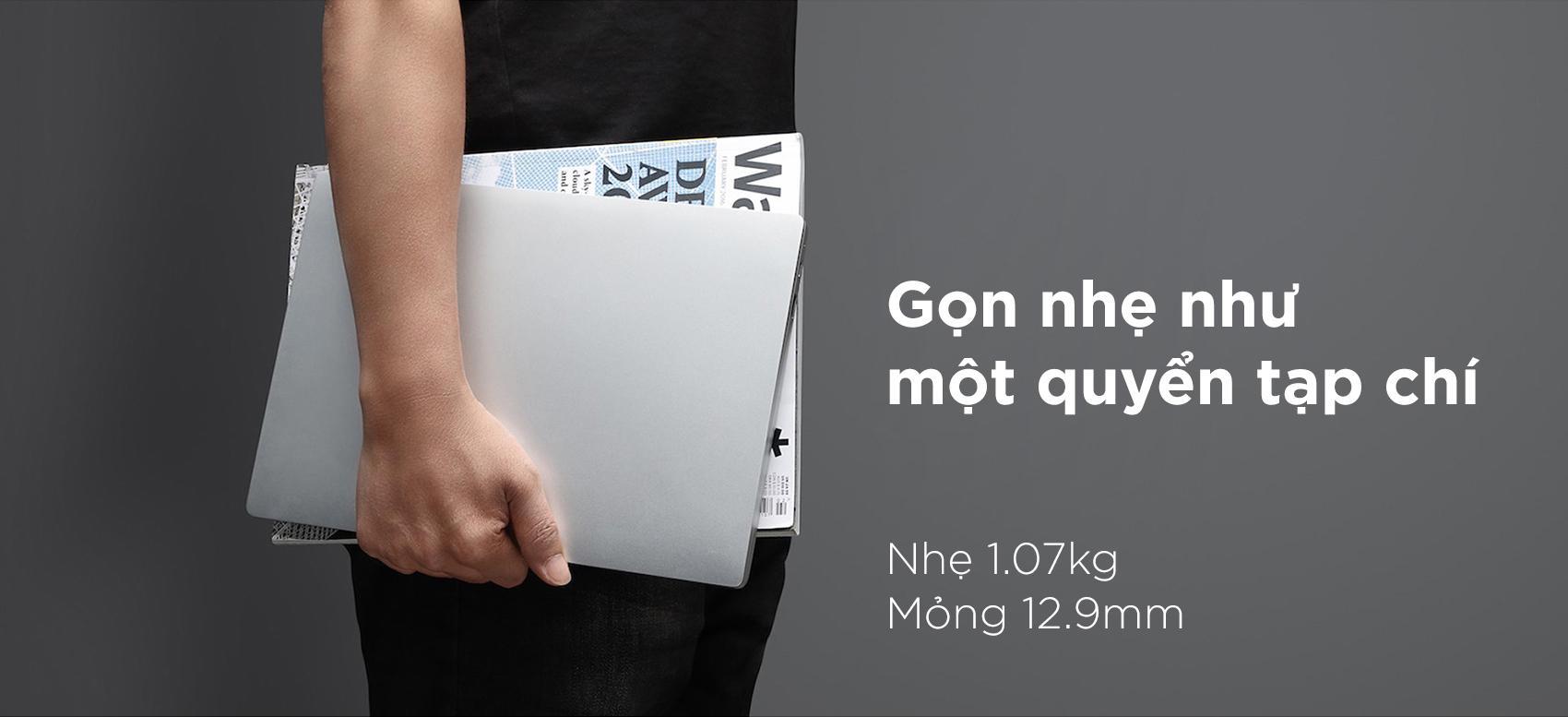 Laptop Xiaomi Mi Notebook Air JYU4047CN Core M3-7Y30/Win10 (12.5 inch) - Hàng Chính Hãng (Silver) - Silver - Hàng Chính Hãng