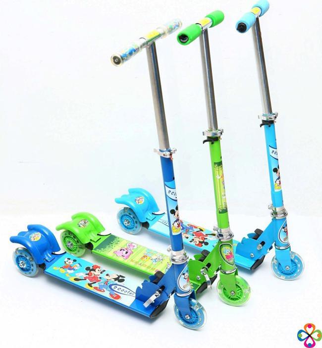 Xe trượt Scooter 3 bánh (màu xanh)