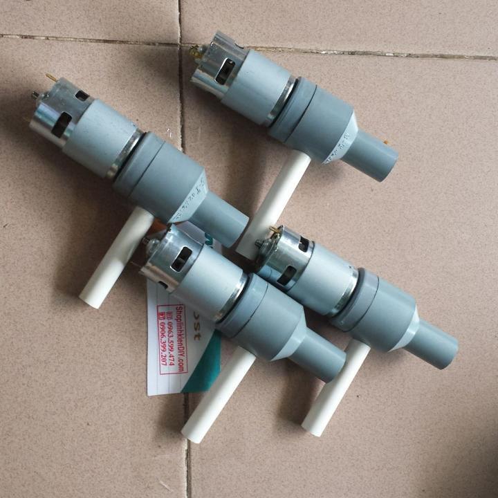Hình ảnh máy bơm nước 12V với motor 775 150w