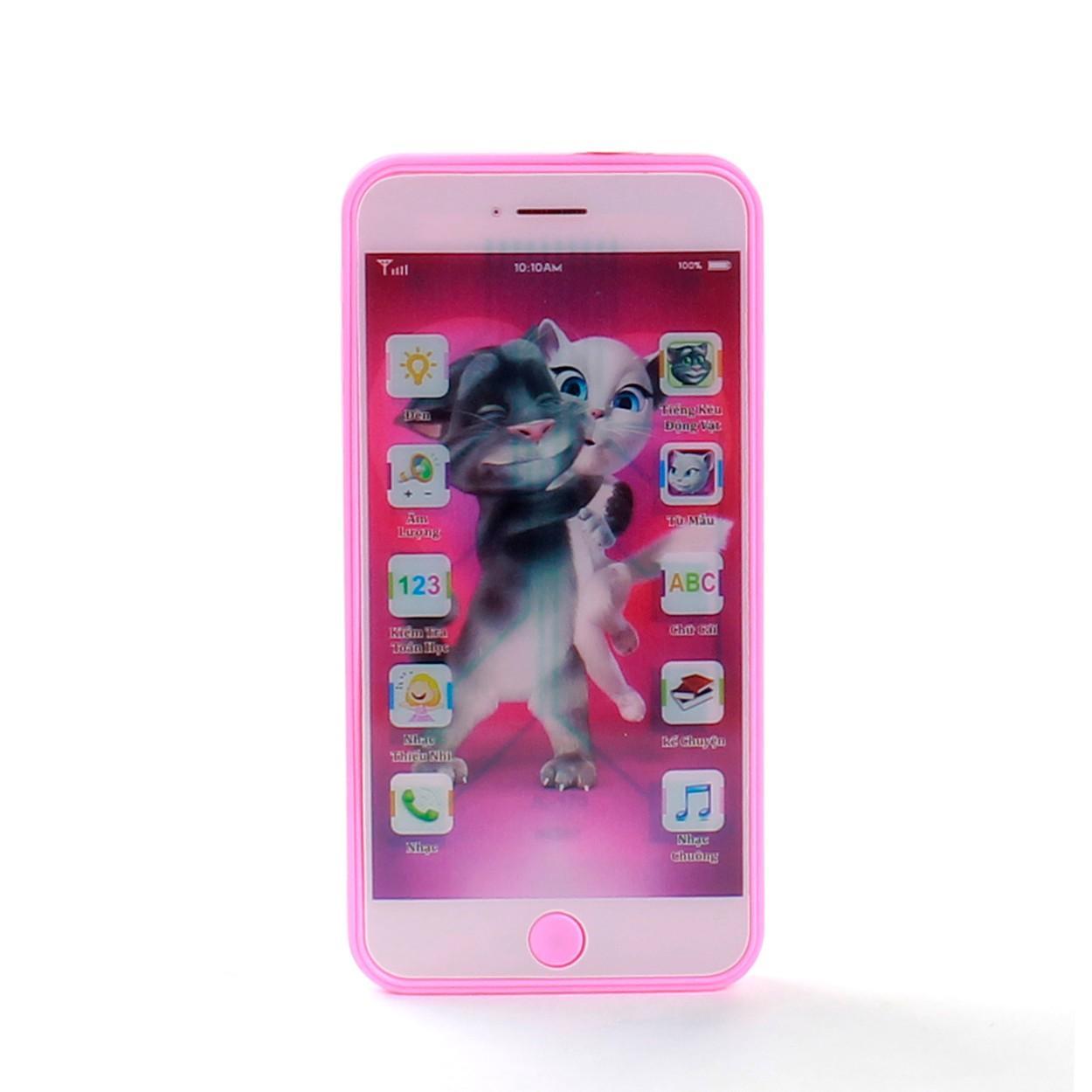 Hình ảnh Đồ chơi cho bé gái - Iphone 6 Điện Thoại Thông Minh (Nhiều màu) - Đồ chơi Tí Tèo