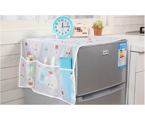 Hình ảnh Tấm trùm tủ lạnh đa năng tiện dụng