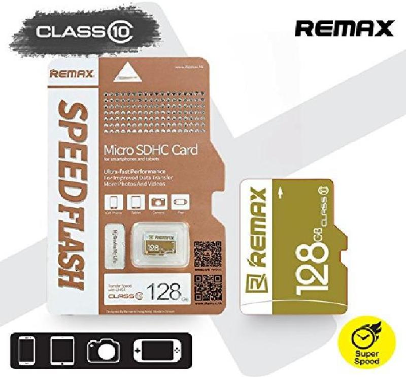 THẺ NHỚ MICROSD REMAX 128GB CLASS 10 CHUYÊN DỤNG CHO CAMERA