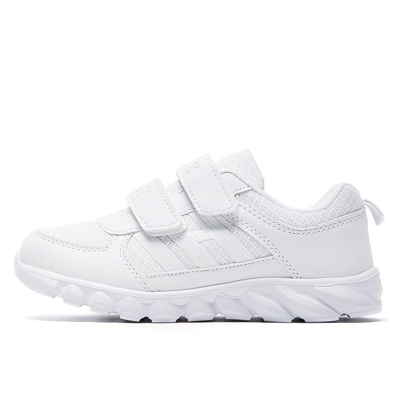Detail Gambar PINLI Mesh Bernapas Kulit Kecil Sepatu Putih Nyaman Lembut Olahraga  Sepatu Lari Terbaru 92b1d55502