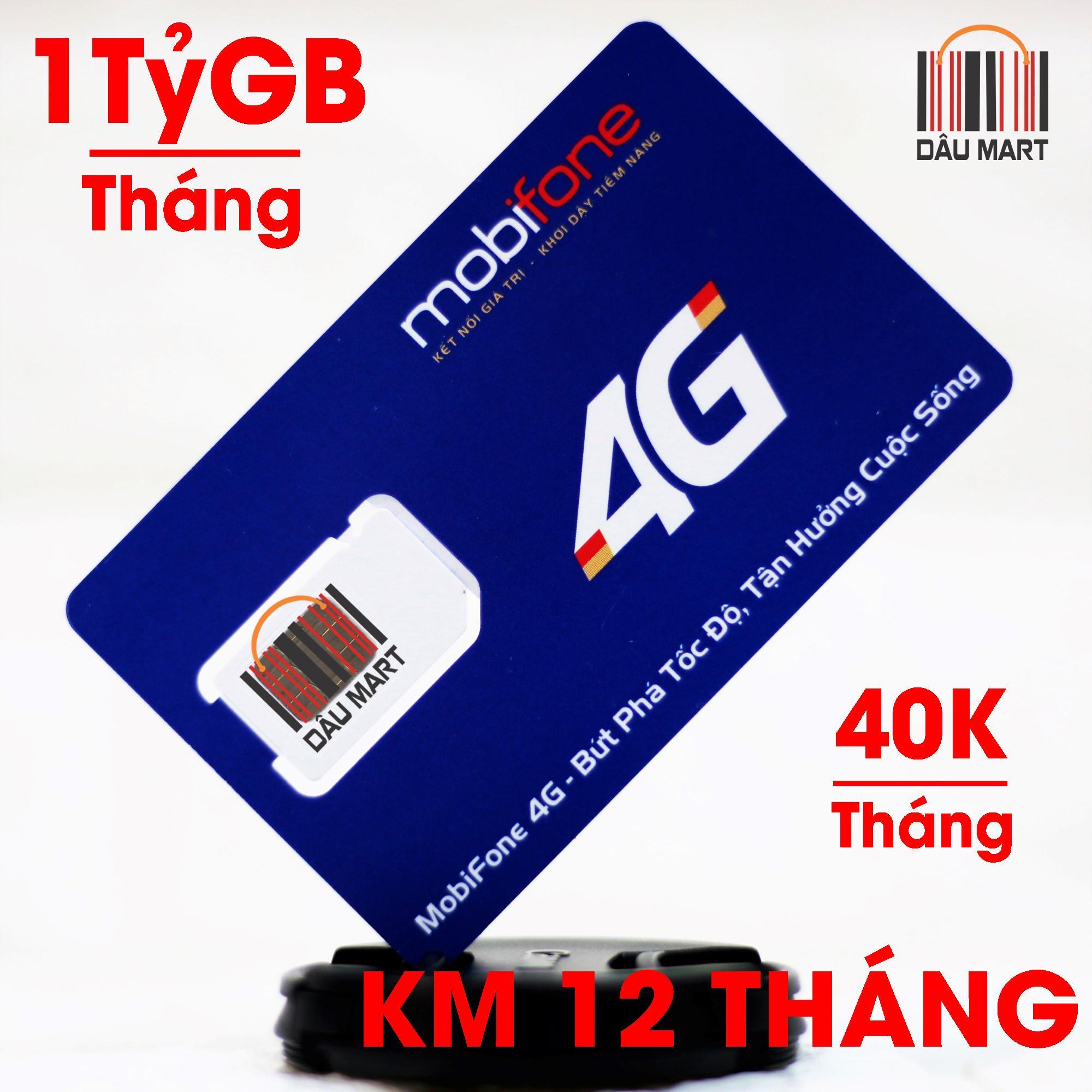 Hình ảnh SIM MAX 4G DATA Mobifone 1 Tỷ GB/Tháng F120WF