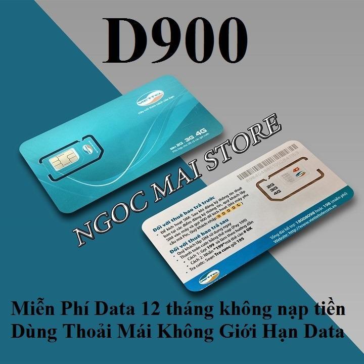 Giá Bán Sim 4G Viettel 7Gb Thang D900 Trọn Goi 1 Năm Sim 4G Viettel Tốt Nhất