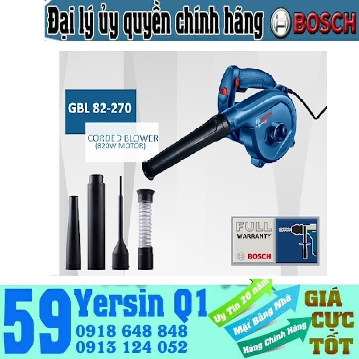 Hình ảnh Máy Thổi Bụi Bosch GBL 82-270 820W