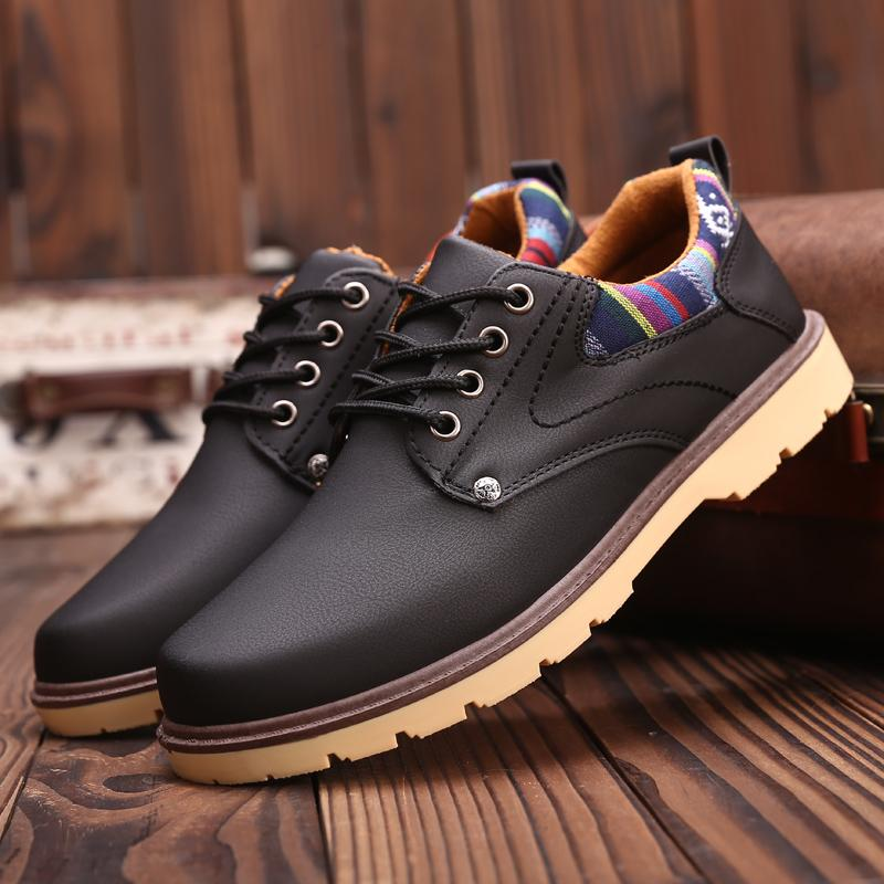 2019 Spring New Style Waterproof Anti-slip WorkWear Work Trendy Shoes  England Big Head Leather 85d4ced0c7