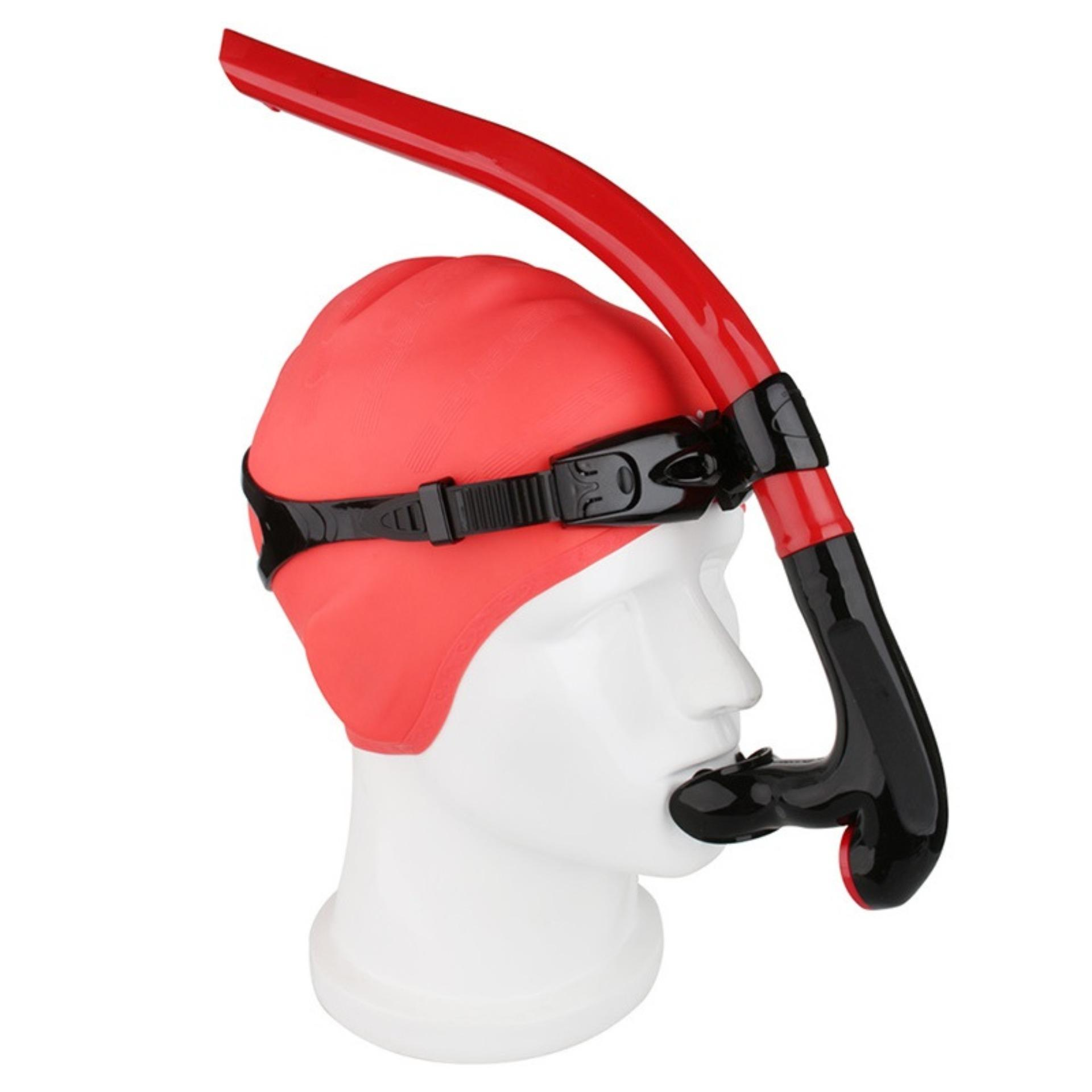 Hình ảnh Ống thở chuyên nghiệp, gắn giữ mặt hỗ trợ lặn biển, tập bơi đúng động tác, chất liệu cao cấp POPO Collection