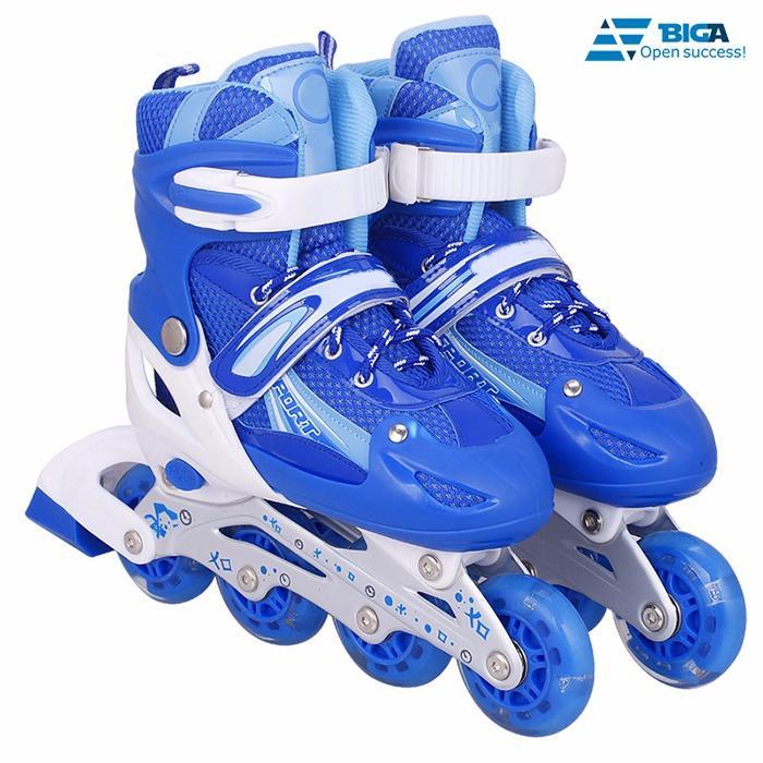 Giày Trượt Patin QF Xanh Size L (41) US05507 - 06