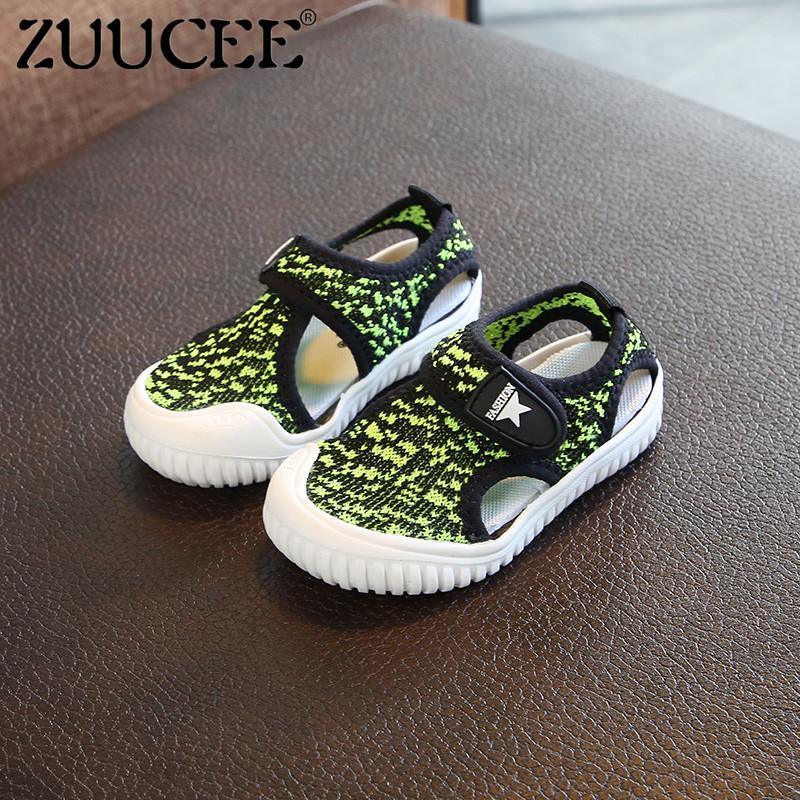 Zuucee Fashion Sepatu Bayi Anak Laki-laki dan Perempuan Sepatu Lembut  Bersirkulasi Sepatu Anak- 534946fb04