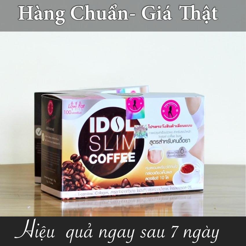 Hình ảnh Cà phê giảm cân Idol Slim Coffee Thái Lan 10 gói x 15g