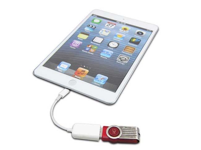 Cáp Lightning USB OTG 2
