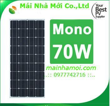Hình ảnh pin mặt trời poly 70w