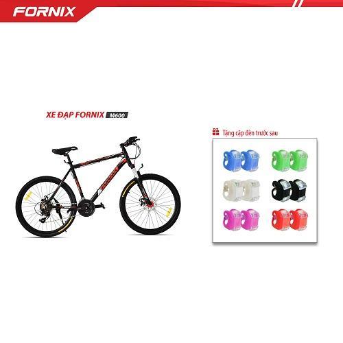 Xe đạp địa hình thể thao Fornix M600  + tặng cặp đèn trước sau