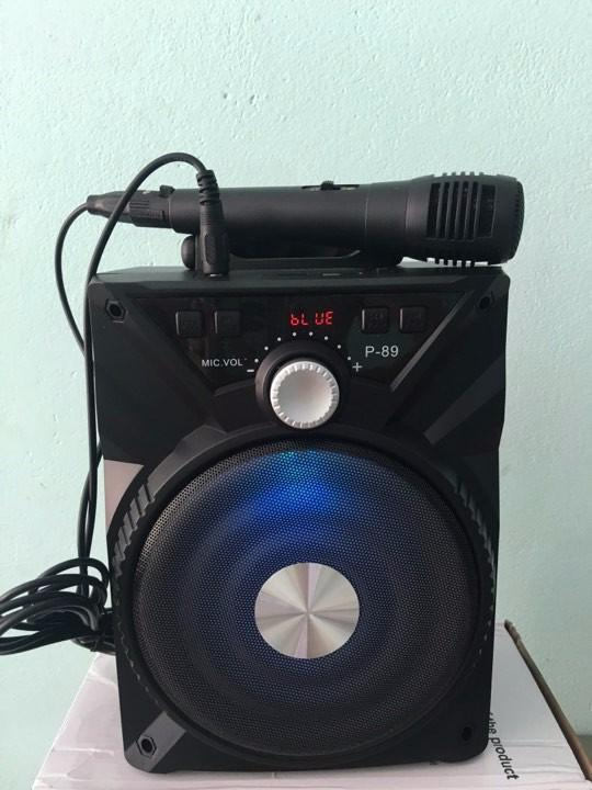 Tặng Micro Loa Bluetooth Karaoke Di Động Tặng Kem Micro Oem Chiết Khấu 50