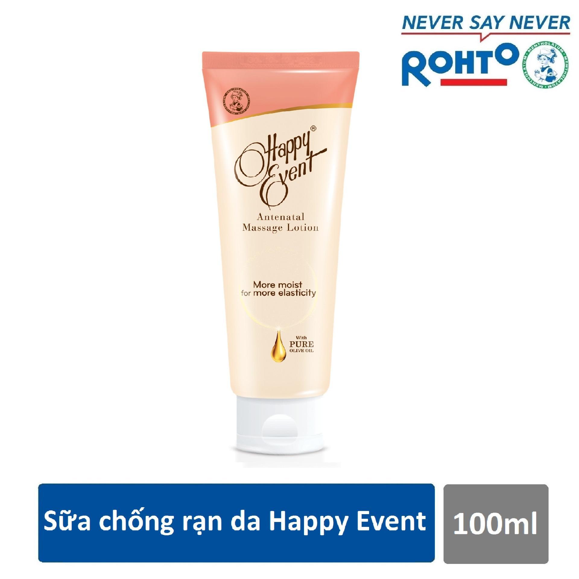 Sữa chống rạn da Happy Event 100ml