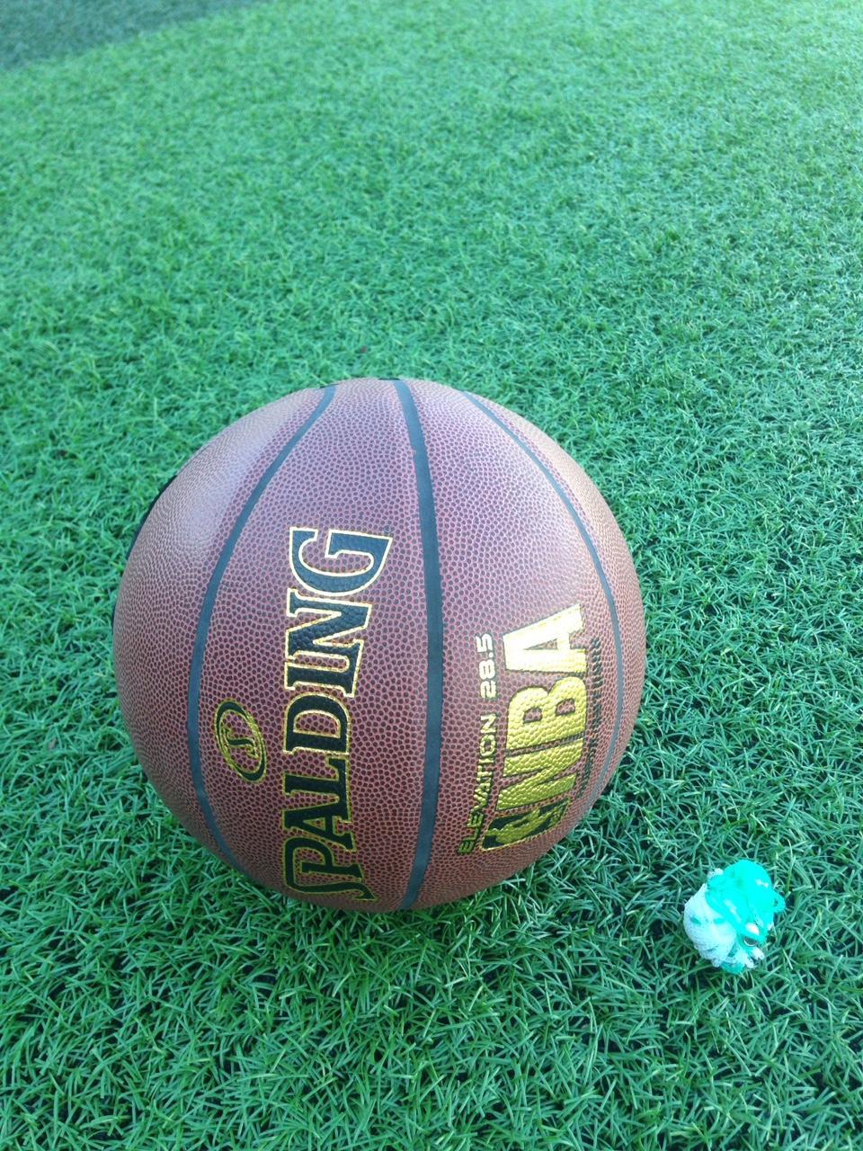 Hình ảnh bóng rổ số 7 SPALDING da PU cao cấp(tặng túi lưới +kim bơm+đôi tất)