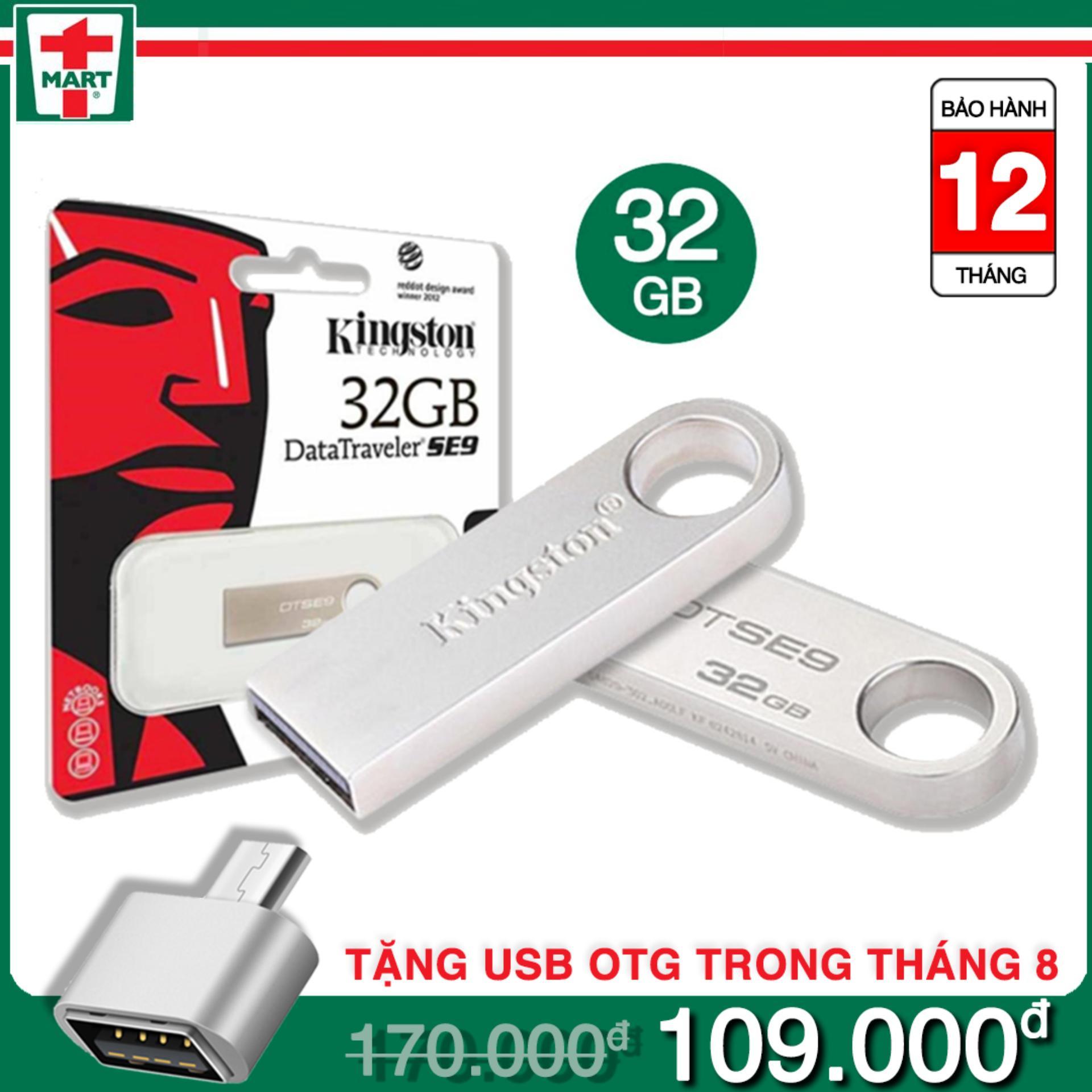 Hình ảnh [32gb] USB Kingston DataTraveler SE9 32GB - Bảo hành 12 tháng lỗi 1 đổi 1