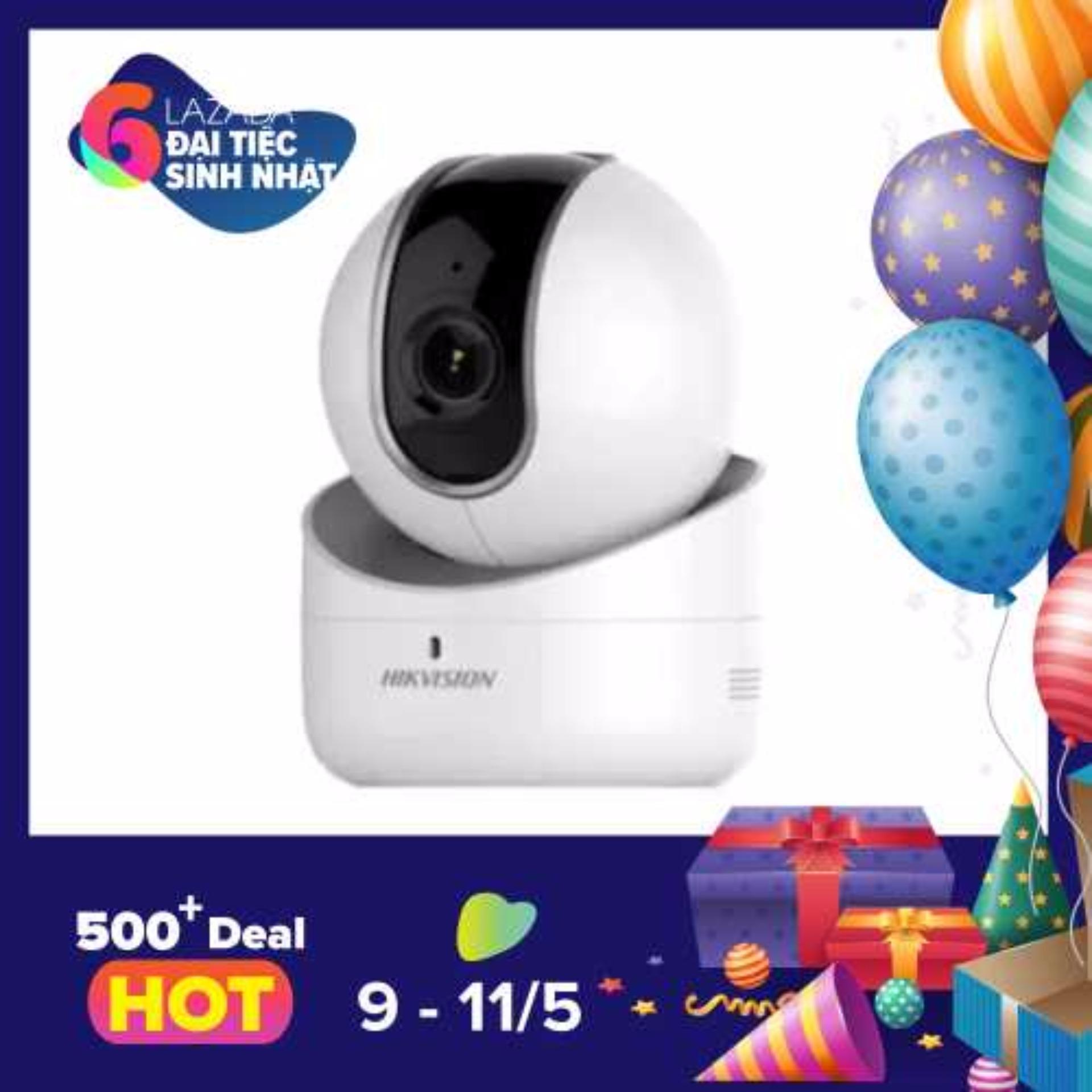 Bán Mua Camera Ip Wifi Hikvision Ds 2Cv2Q21Fd Iw 2Mp Xoay 4 Chiều Kem Nguồn 5Vdc Hồ Chí Minh
