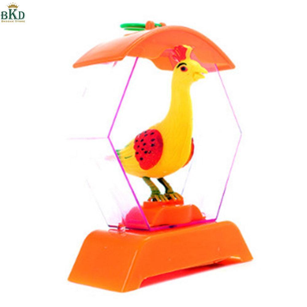 Hình ảnh Bkodak Store Plastic Birdcage Singer Bird Singing Intelligence Cute Electric