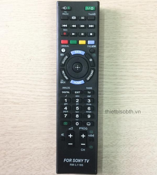 Điều khiển cho tivi Sony-LCD, Let, Internet Tivi,…