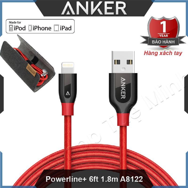 Mua Cable Lightning Anker Powerline Dai 1 8M A8122 Cap Sử Dụng Cho Điện Thoại Iphone Ipad Anker Trực Tuyến