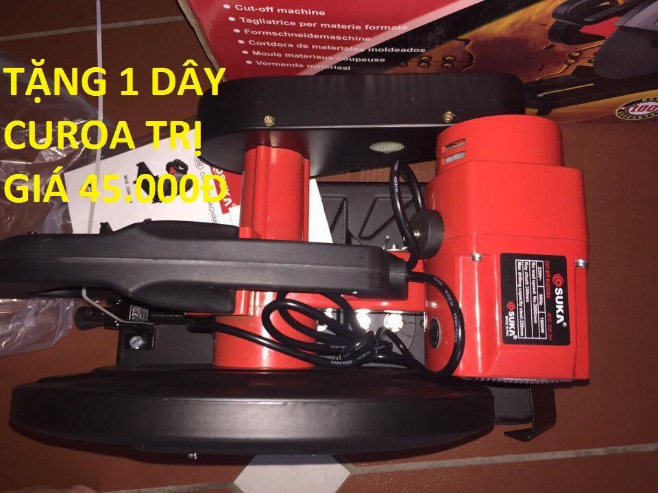 Máy cắt sắt dây curoa 350mm Osuka (tặng 1 dây curoa máy cắt sắt trị giá 45.000)