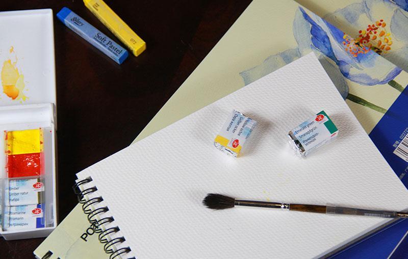 Mua Sổ vẽ Potentate-022722-Sổ A4-Sổ vẽ màu nước, Watercolor pad ,sketch, Drawing book -Kích thước 270x195