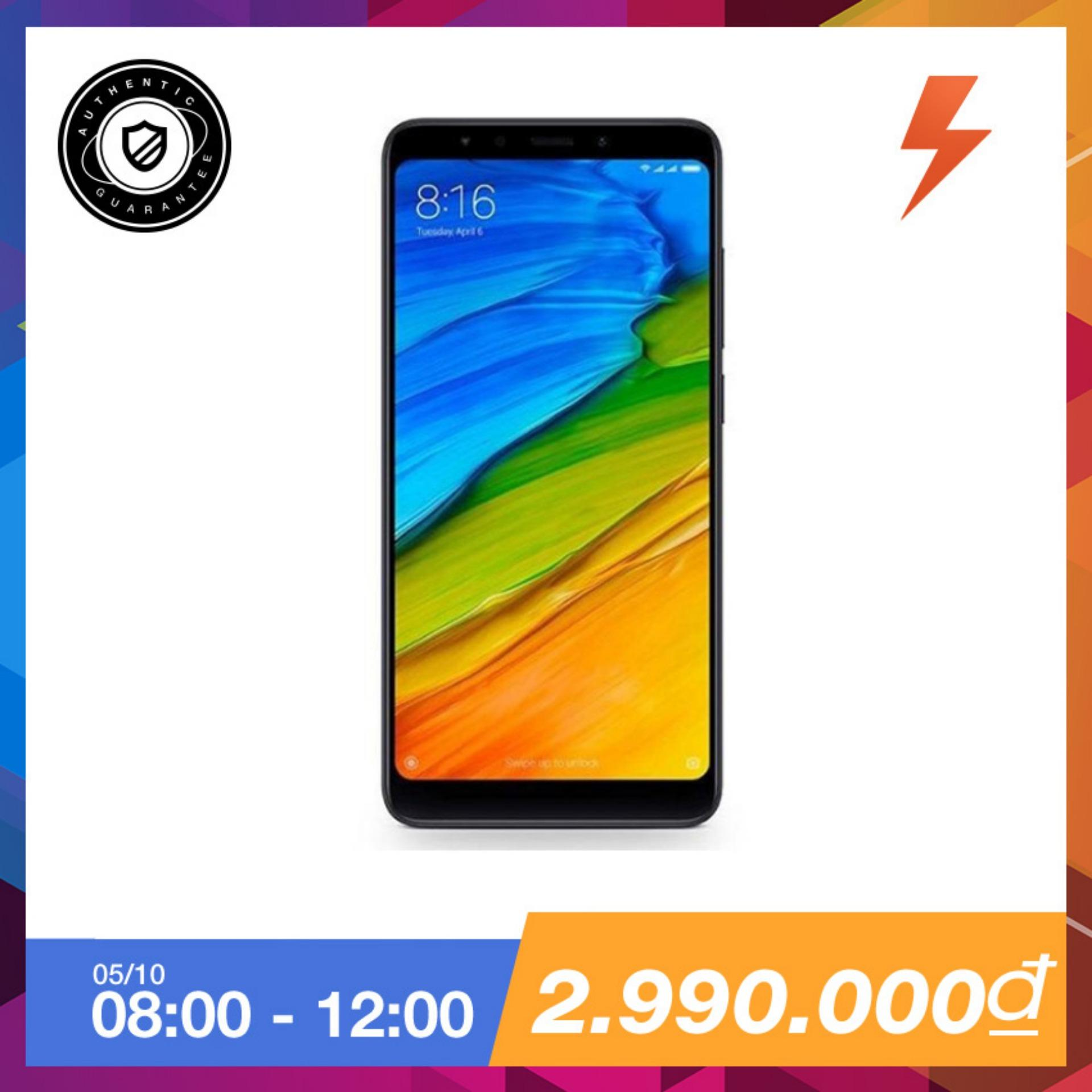 Mua Xiaomi Redmi 5 32Gb Ram 3Gb Đen Hang Phan Phối Chinh Thức Trực Tuyến Hồ Chí Minh