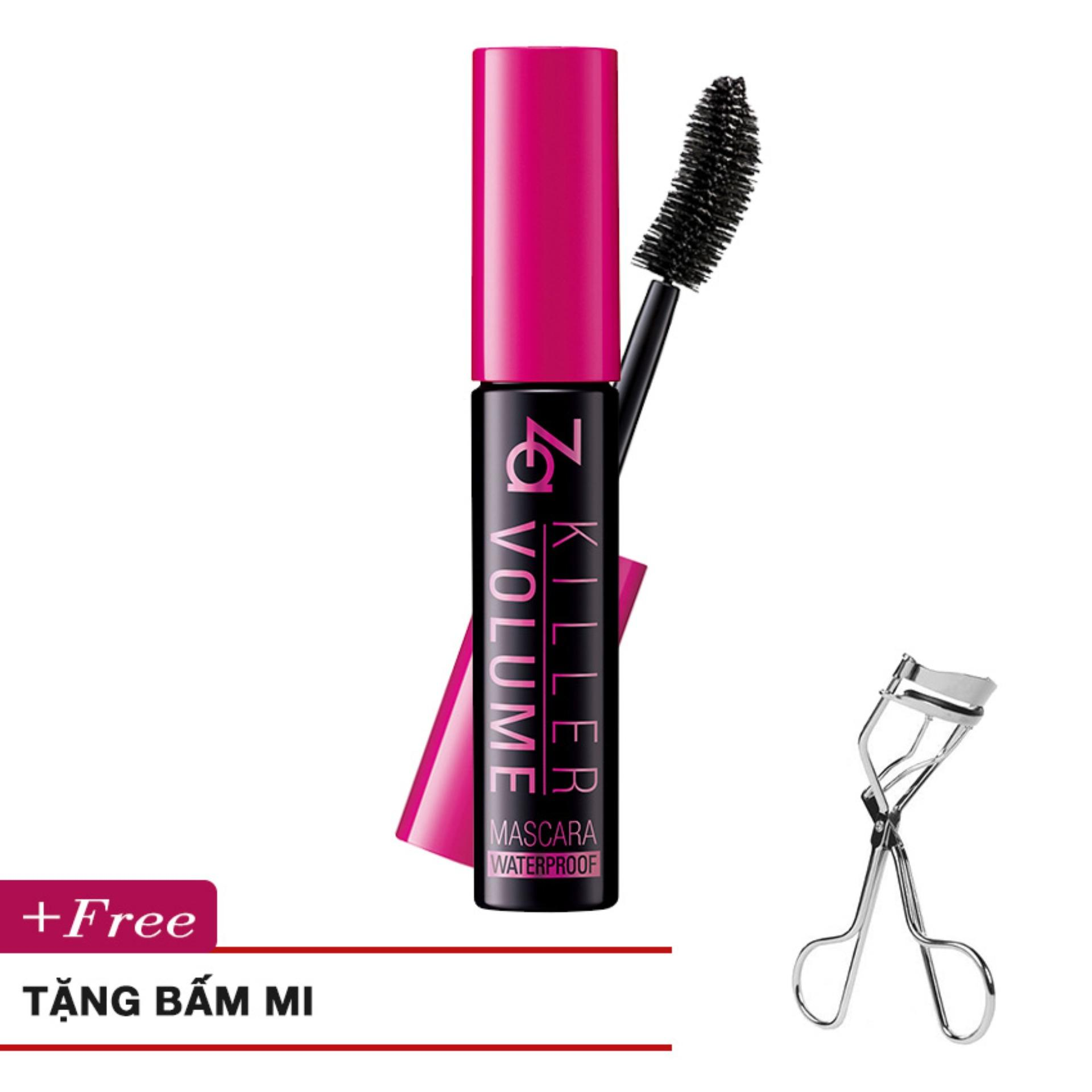 Mascara Lam Dai Va Day Mi Killer Volume Mascara N01 Real Black 9G Za Chiết Khấu 40